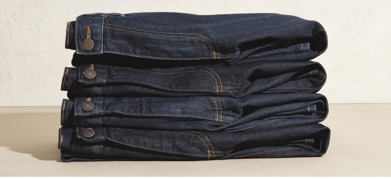 Your New Favorite Jeans Made with the finest Supima cotton and the perfect amount of stretch, these stylish yet comfortable jeans are sure to be your new favorite. Available in two fits and two washes
